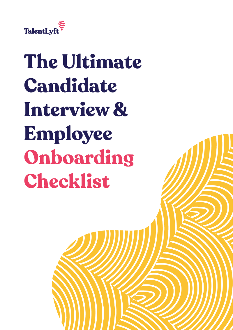 The Ultimate Candidate Interview & Employee Onboarding Checklist