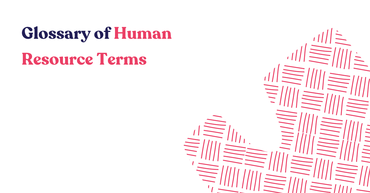 Glossary of Human Resource Terms