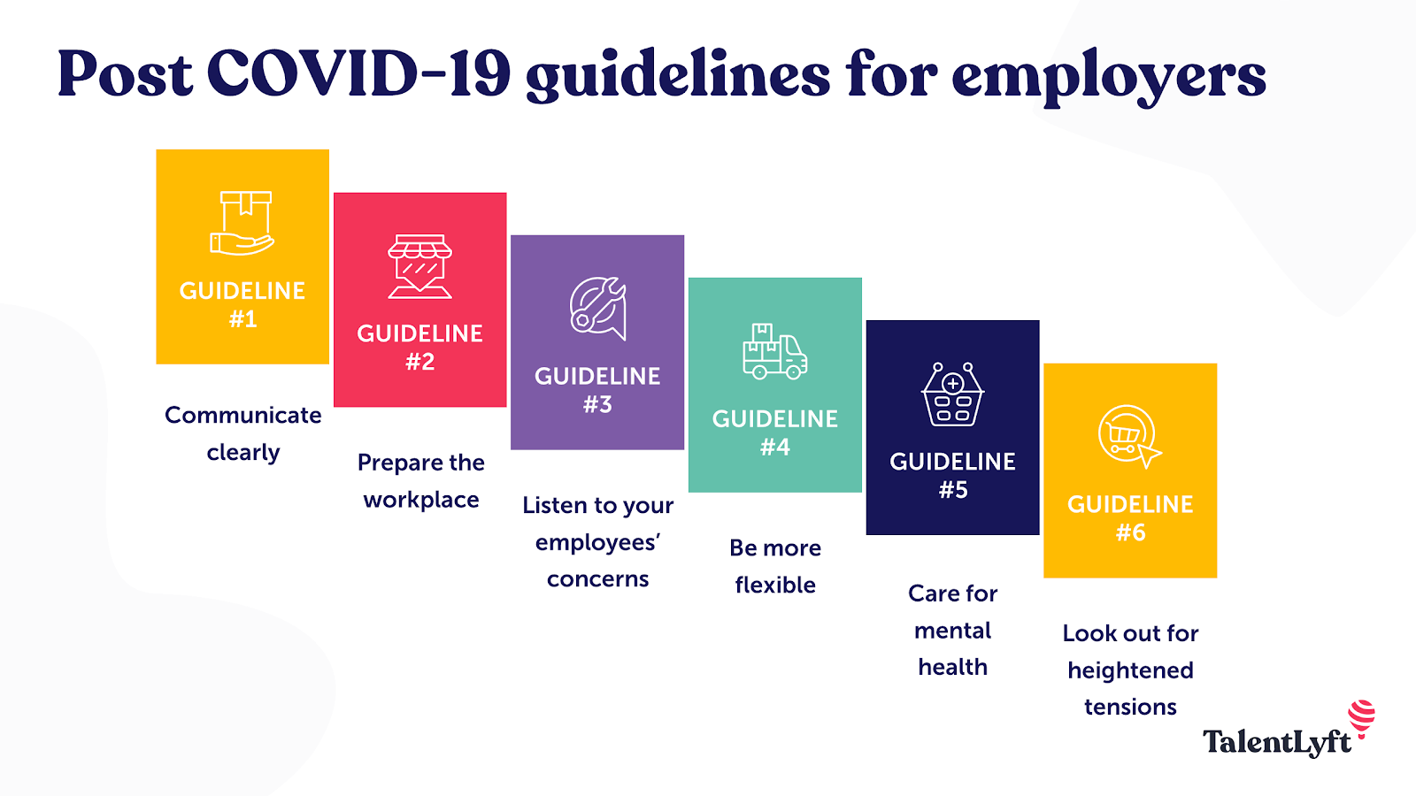 Return to work guidelines for employers