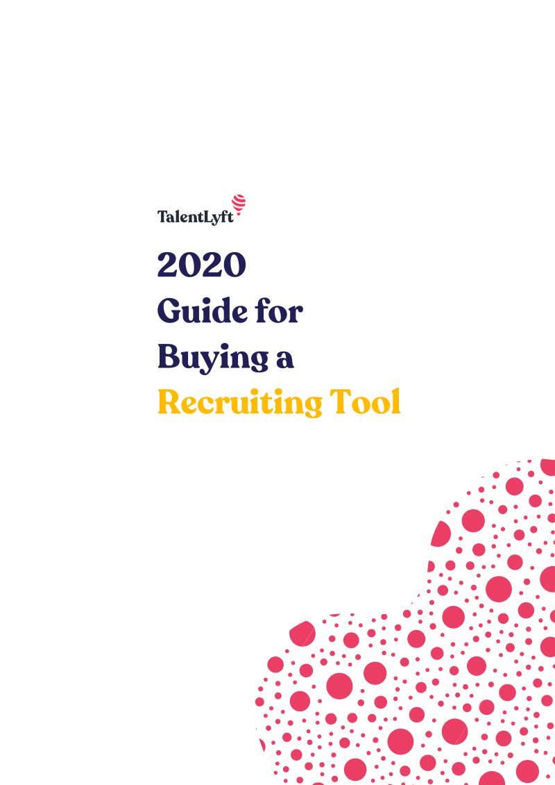 2020 Guide for Buying a Recruiting Tool