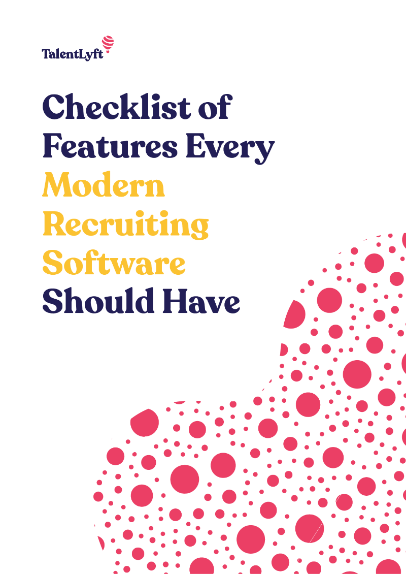 Checklist of Features Every Modern Recruiting Software Should Have