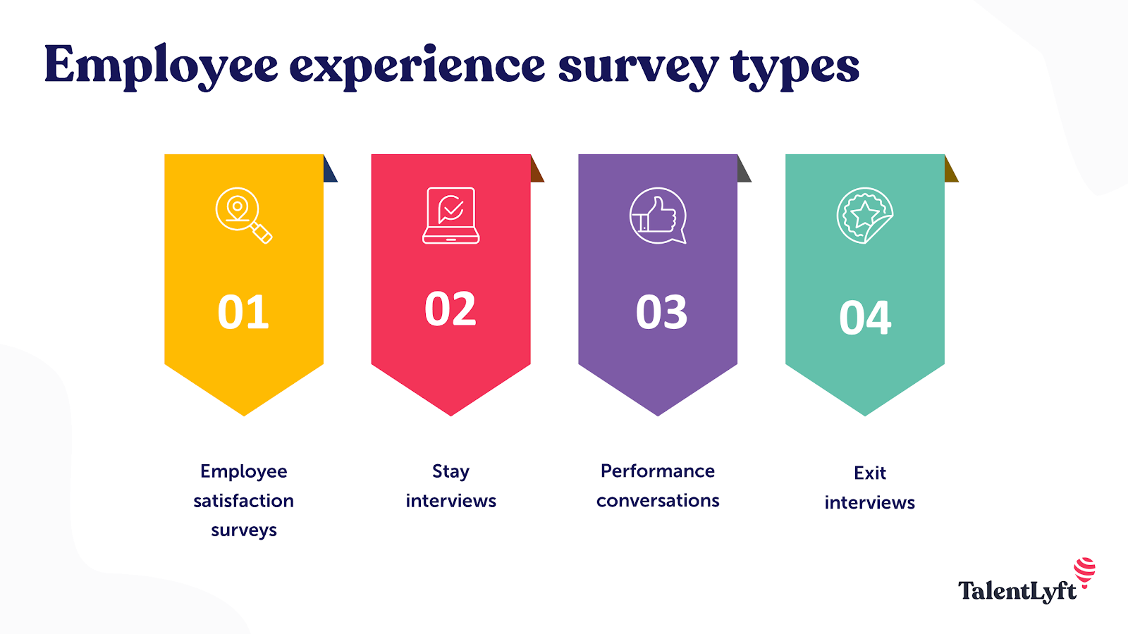 Employee experience survey types