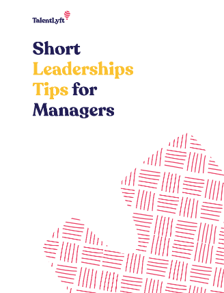 Short Leaderships Tips for Managers