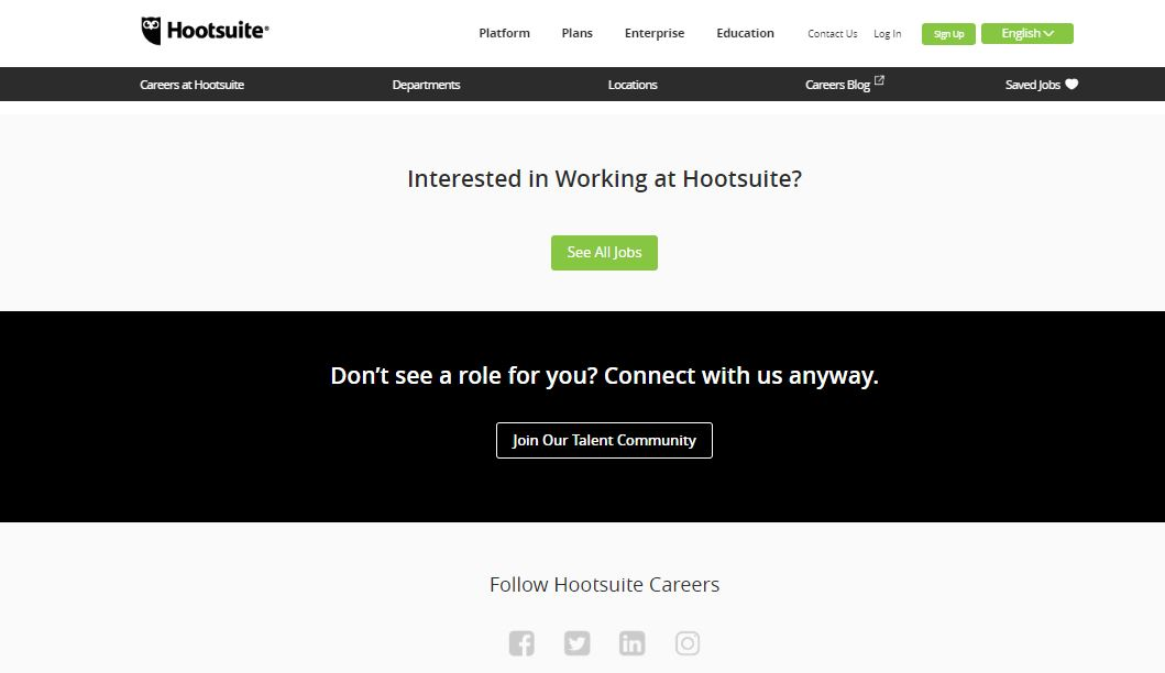 Career site example