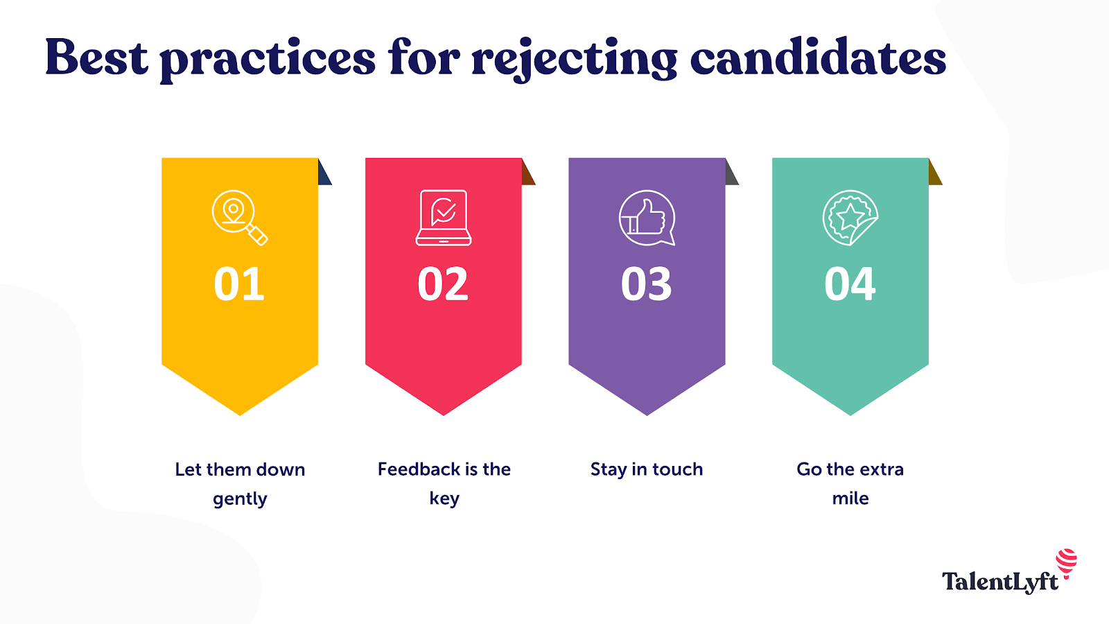 Best ways to reject candidates
