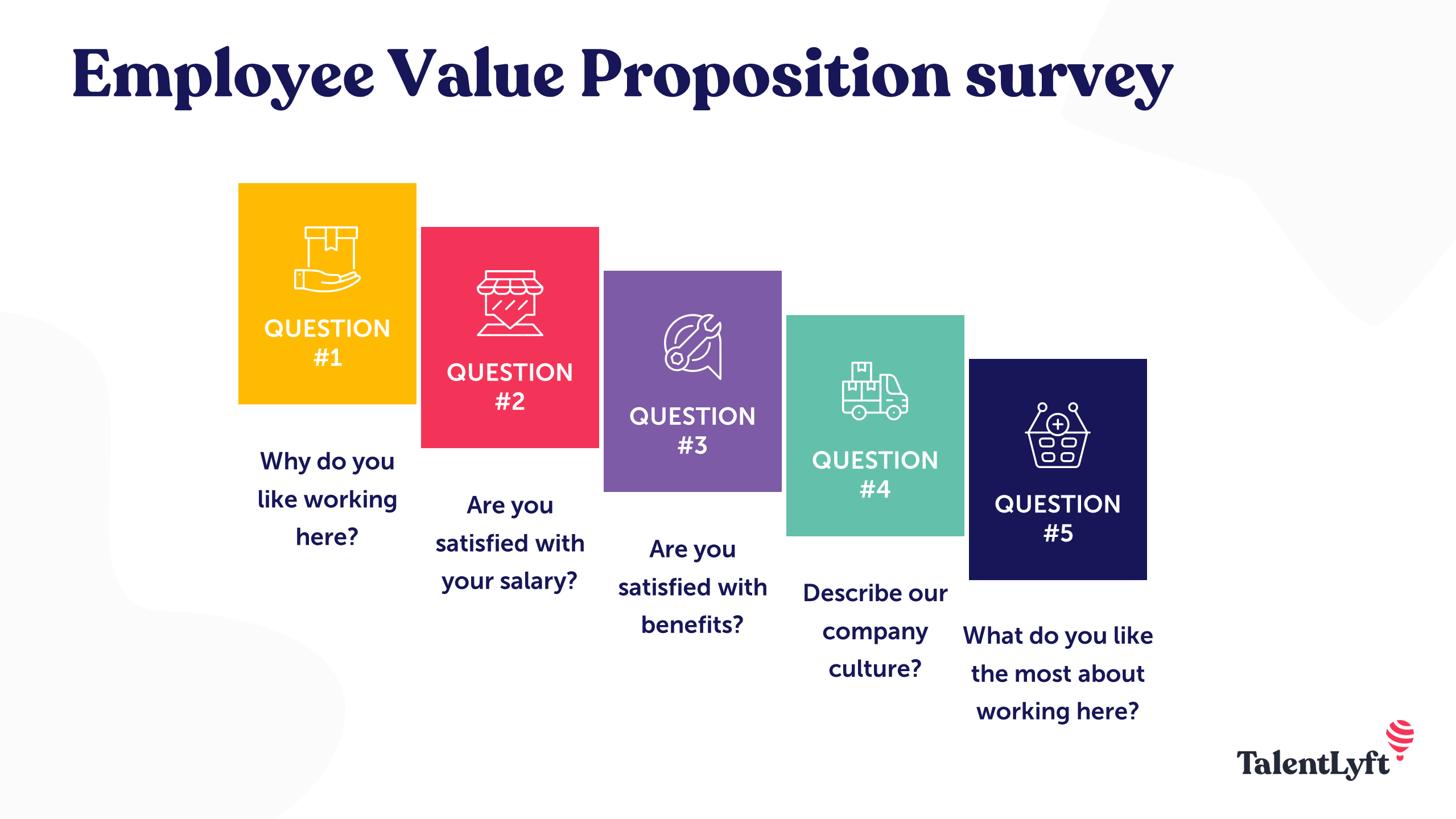 Employee value proposition survey questions