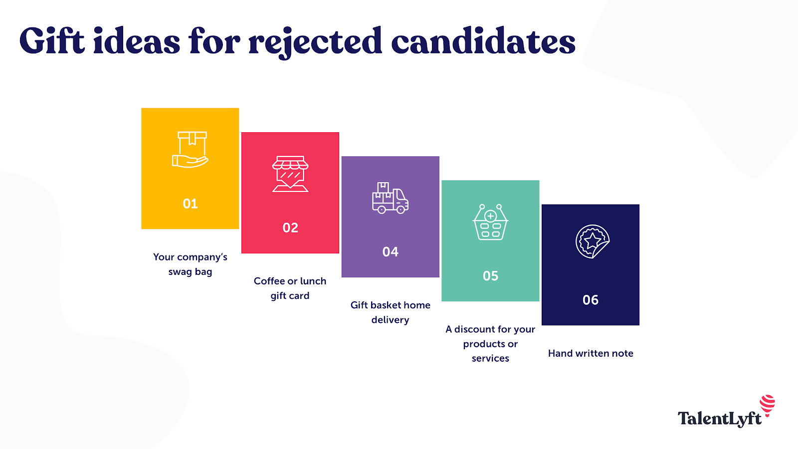 Gift ideas for rejected candidates