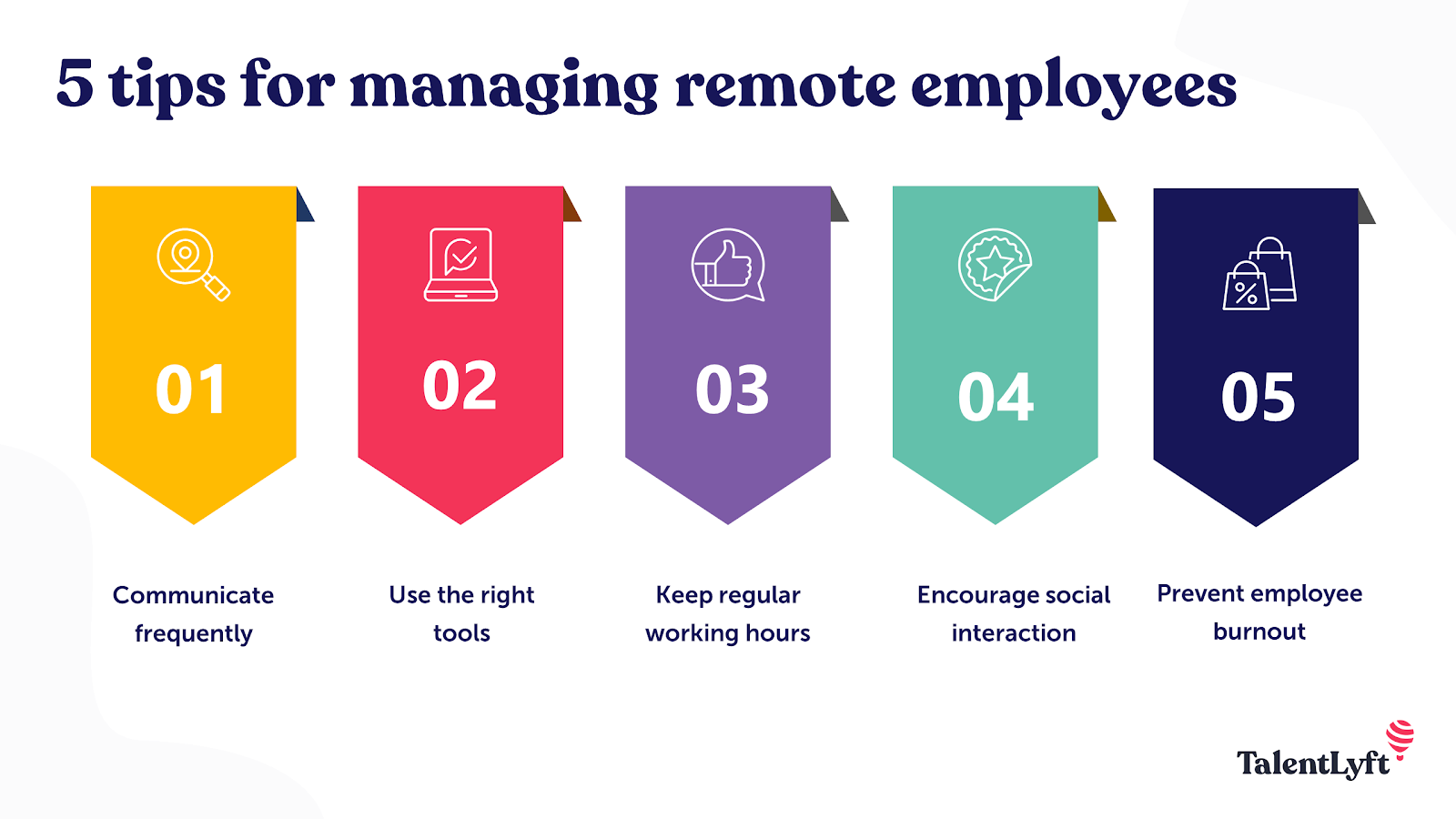 5 Tips for managing your remote employees