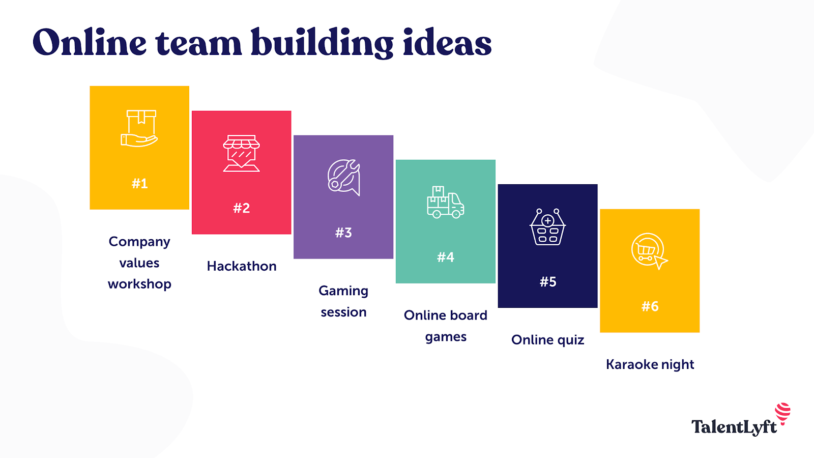 Online team building ideas