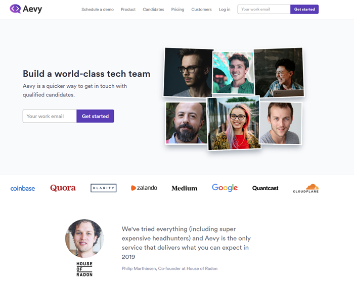 Best-Recruitment-Tools- 2019-Candidate-sourcing-software-Aevy