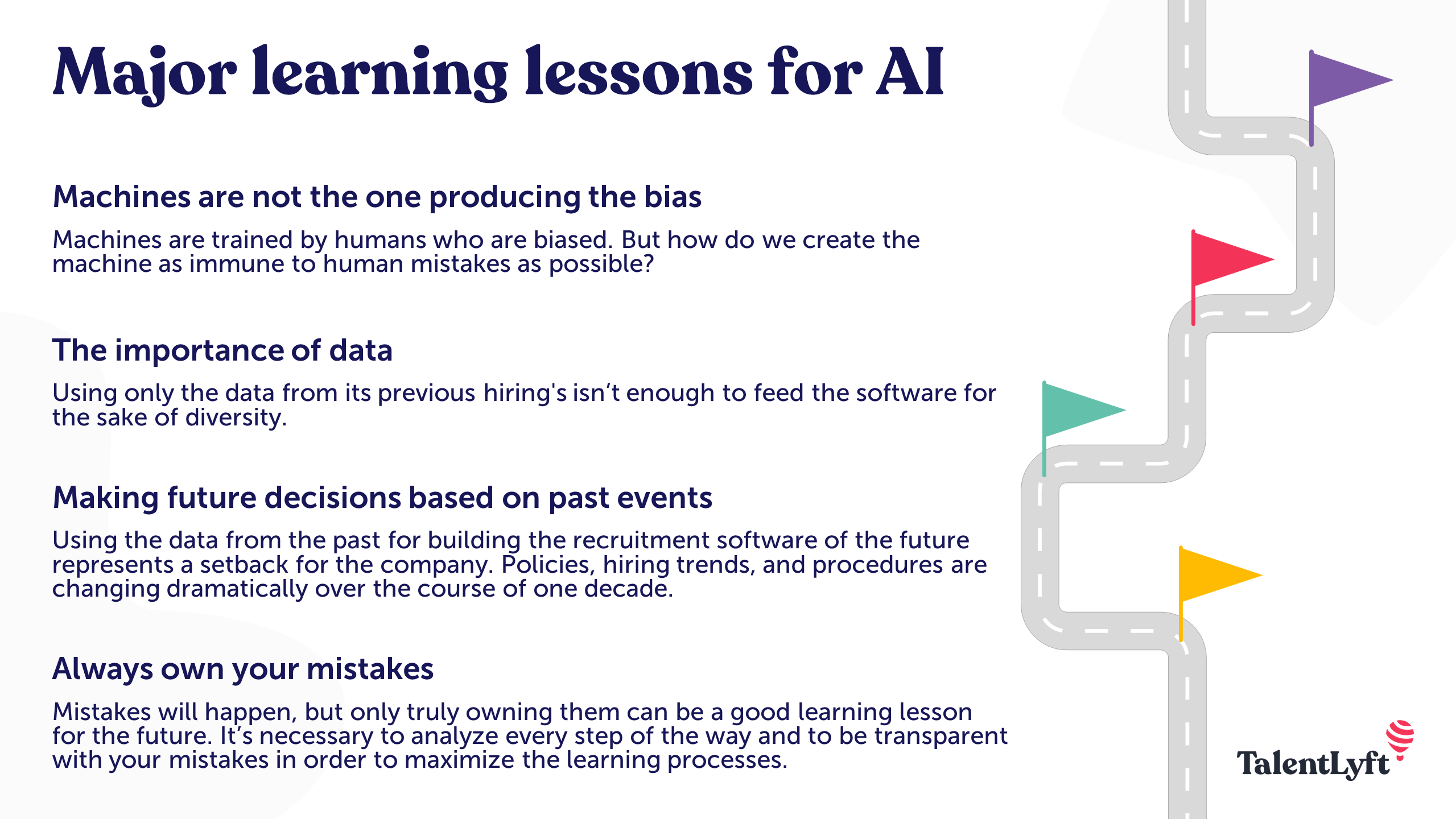 Learning lessons for AI in recruitment