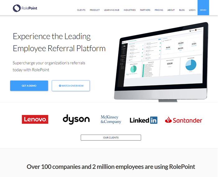 Best-Recruitment-Tools- 2019-Employee-Referral-software-RolePoint