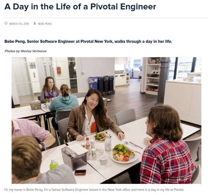 Career blog article