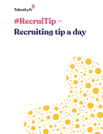 #RecruiTip - Recruiting tip a day