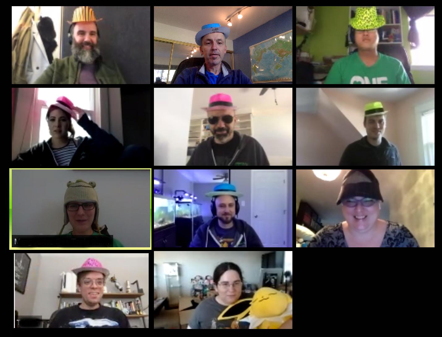 Fun video meetings