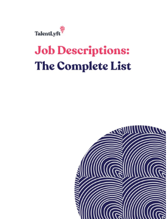 Job Descriptions: The Complete List (500+ Job Description Templates)