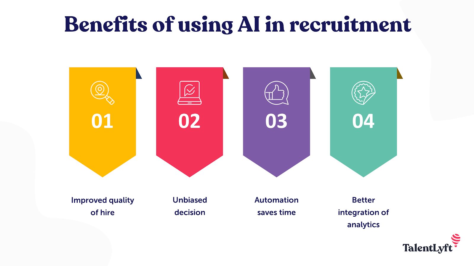 Benefits of using AI in recruitment