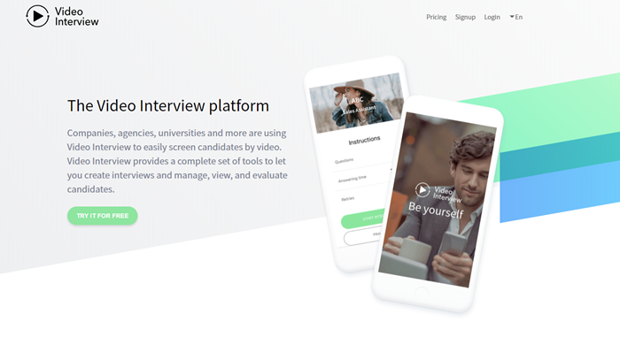 Best-Recruitment-Tools- 2019-Video-interviewing-software