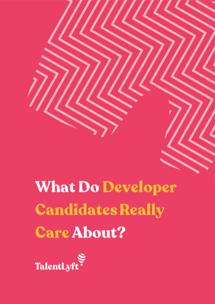 What Do Developer Candidates Really Care About?