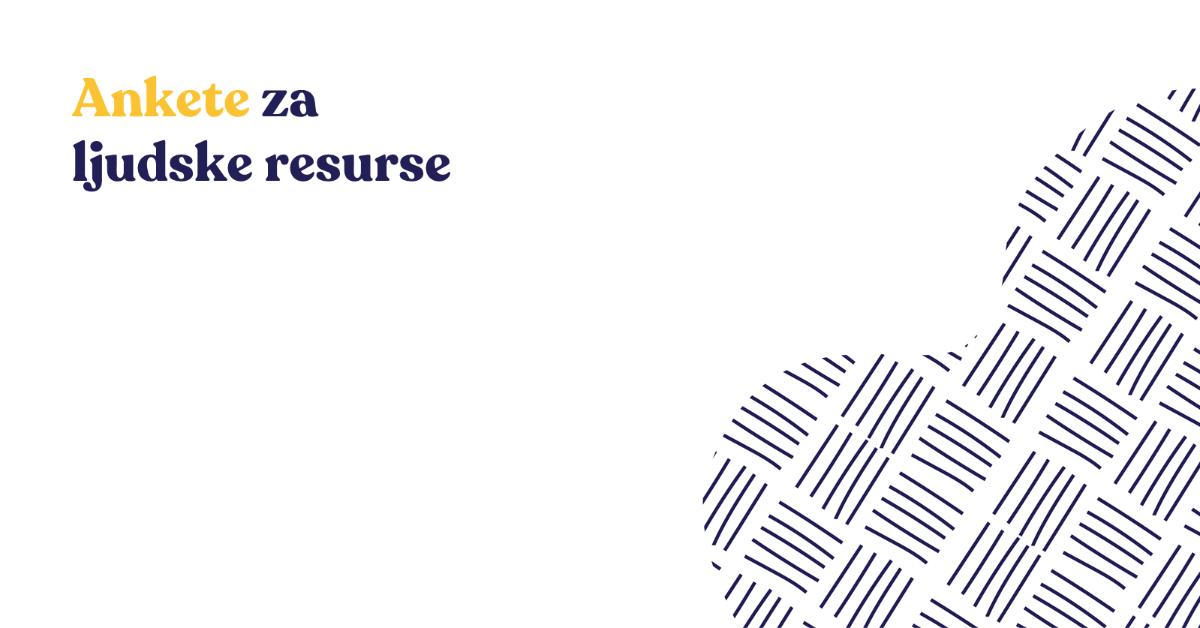 Ankete za ljudske resurse