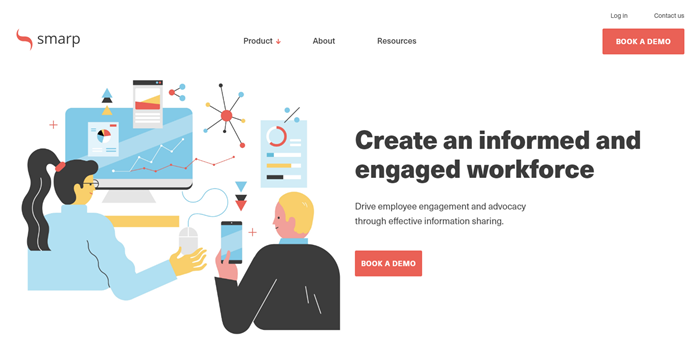 Best-Recruitment-Tools- 2019-Employee-Advocacy-Software-Smarp