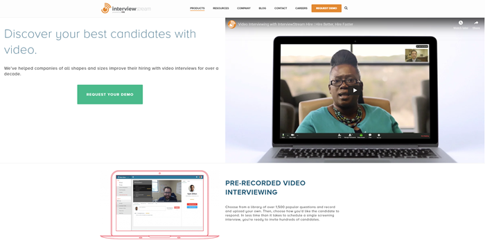 Best-Recruitment-Tools- 2019-Video-interviewing-software-InterviewStream