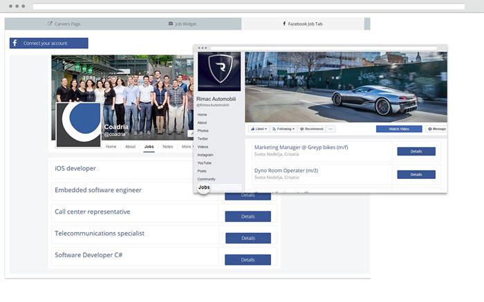 Guia de trabalho do Facebook