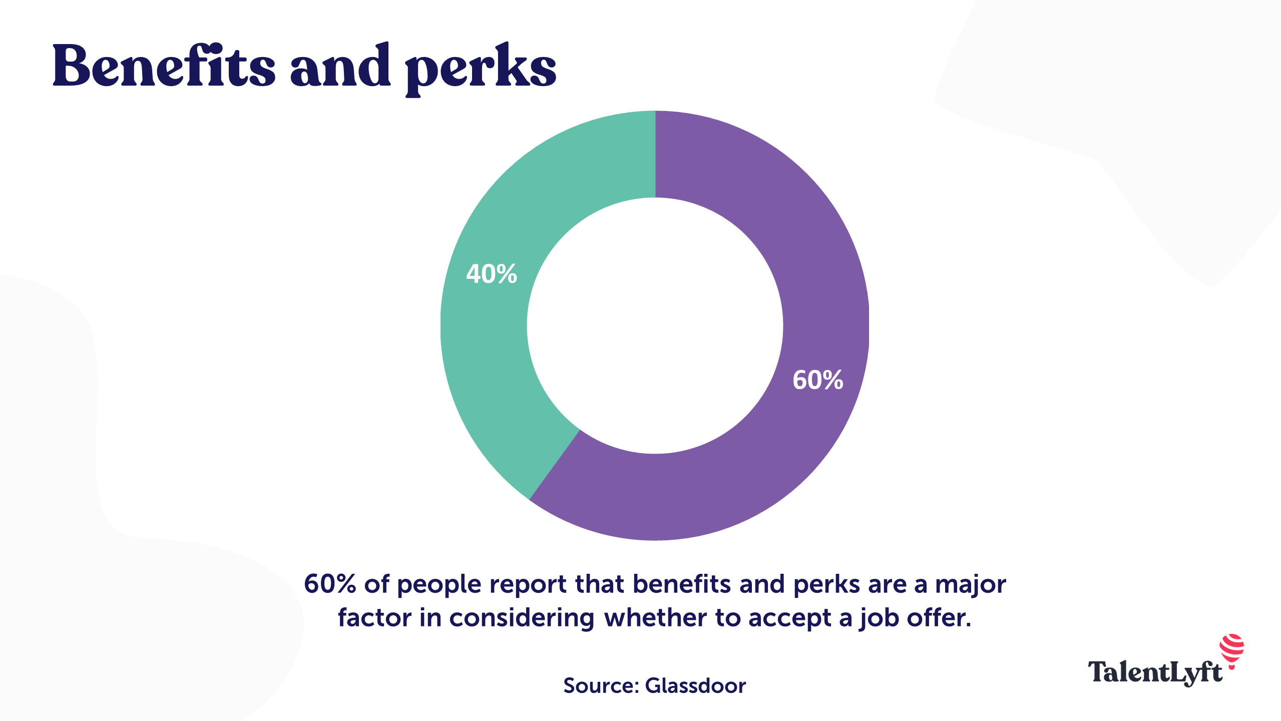 Employee value proposition: Perks and benefits