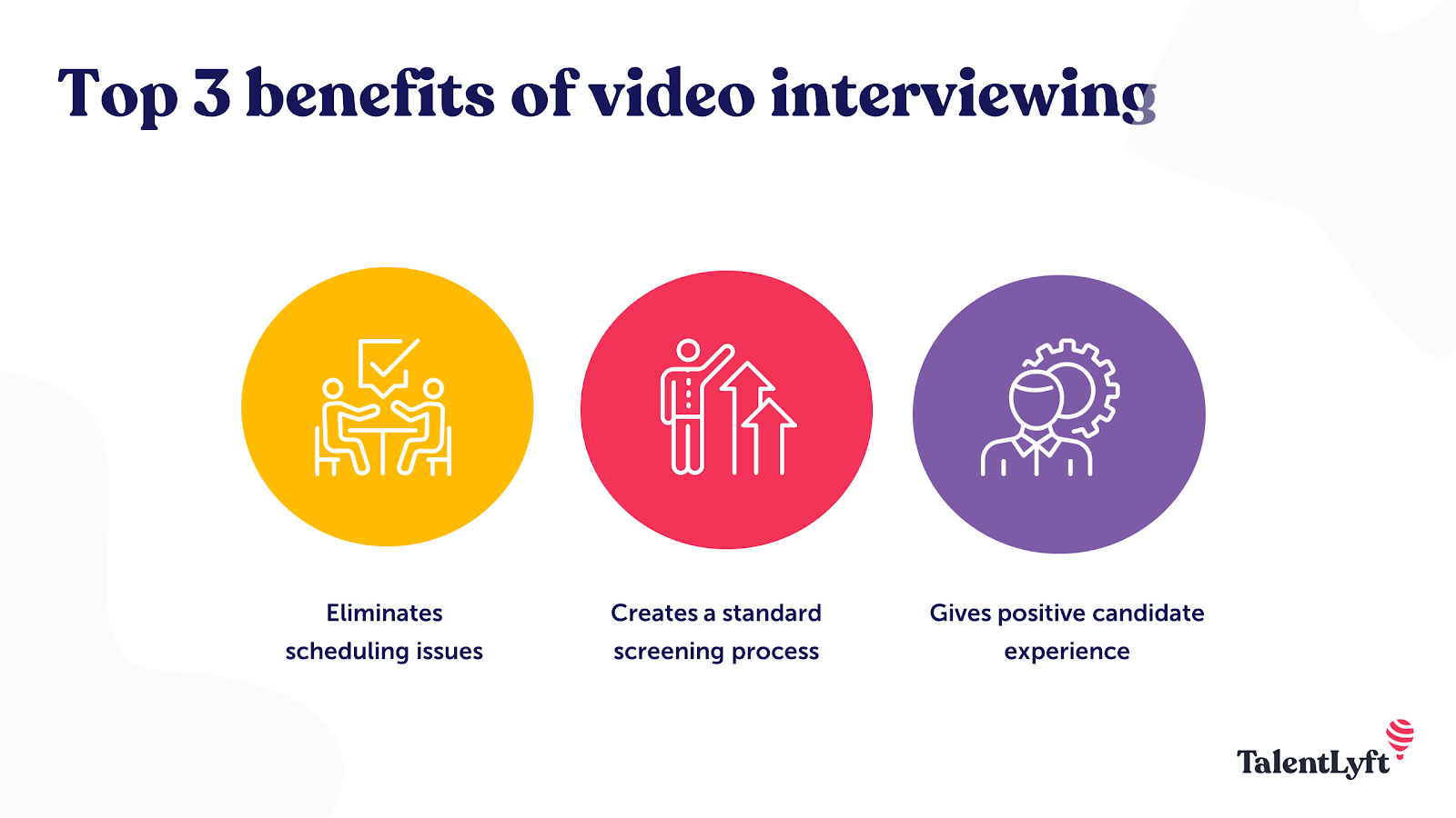 Video interviewing benefits