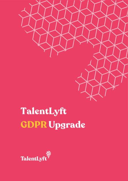 TalentLyft GDPR Upgrade