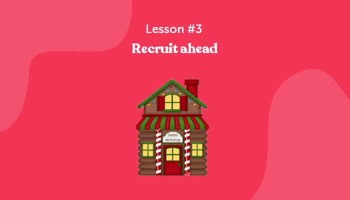 Learn about recruiting form Santa Claus