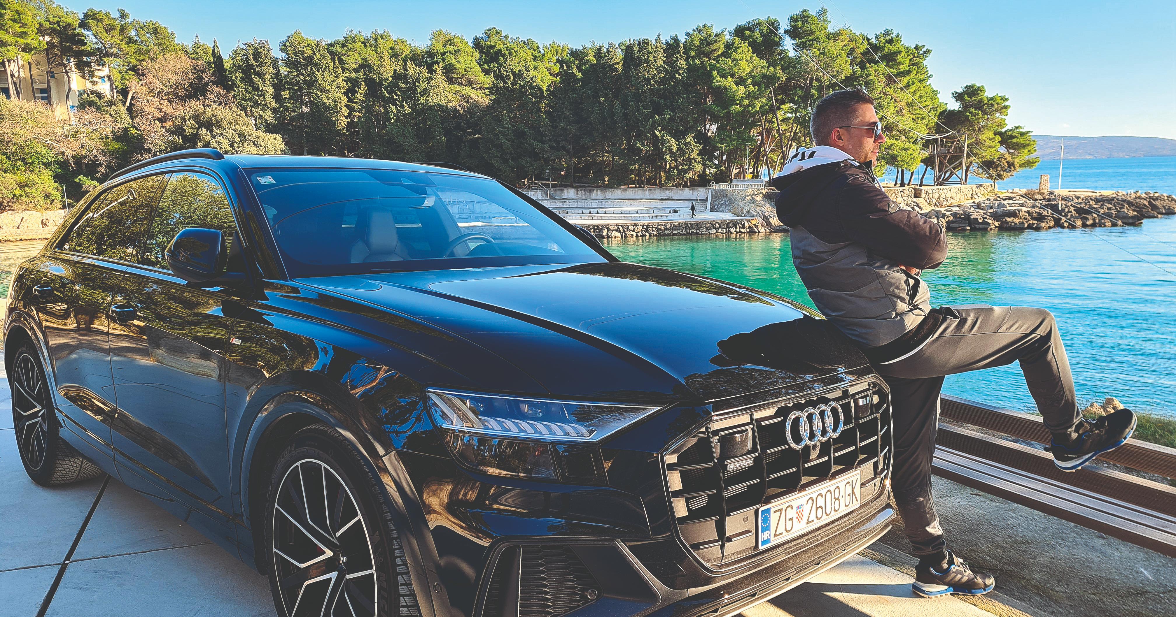 JAN GOSPODNETIĆ: Zadnji auto koji sam osigurao bio je vrijedan malo manje od 2 milijuna kuna, srećom sam od tvrtke za vikend dobio Audi Q8 za utjehu!