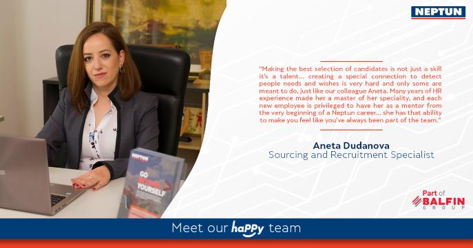 Meet our haPPy team - Aneta Dudanova