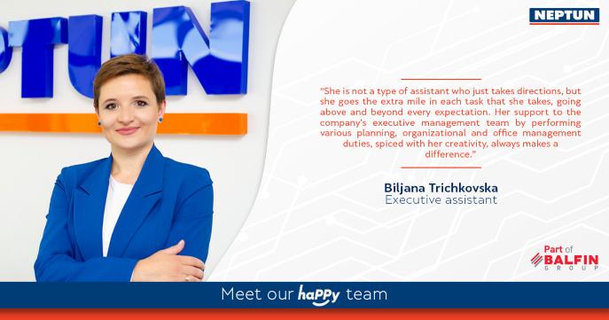 Meet our haPPy team - Biljana Trichkovska