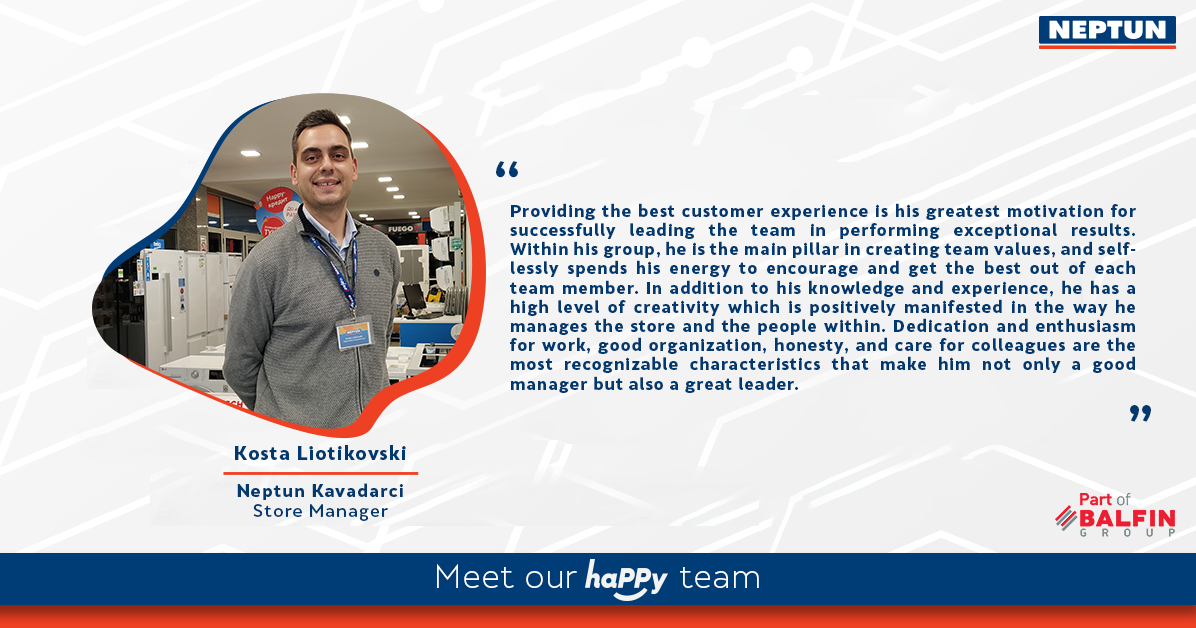 Meet our haPPy team - Kosta Liotkovski