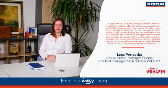 Meet our haPPy team   Lepa Petrovska