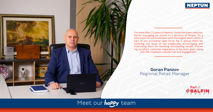 Meet our haPPy team  Goran Panzov