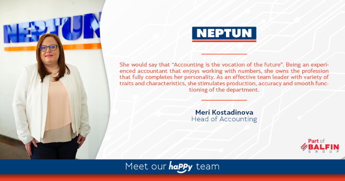 Meet our haPPy team - Meri Kostadinova