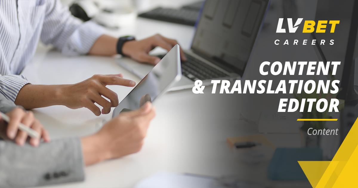 Content & Translations Editor