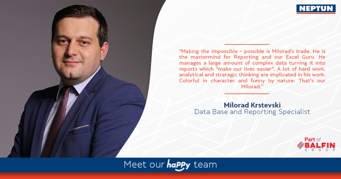 Meet our haPPy team - Milorad Krstevski