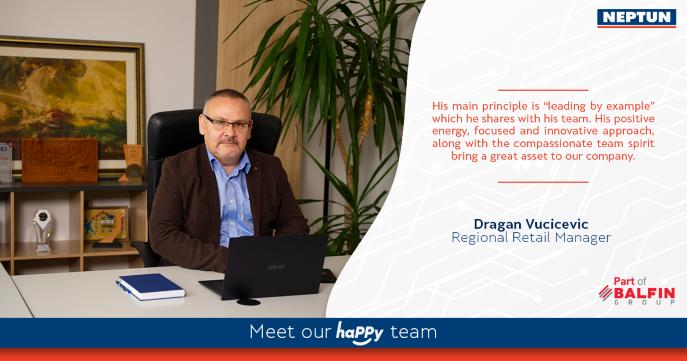 Meet our haPPy team  Dragan Vucicevic