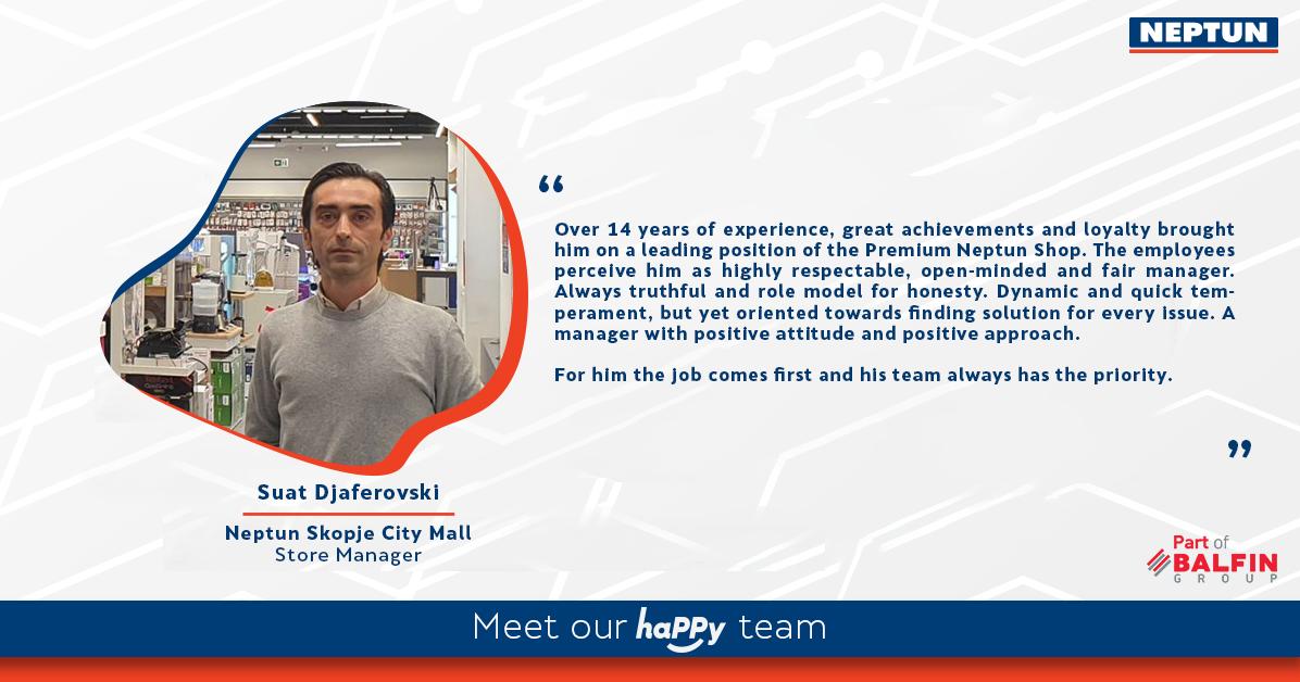 Meet our haPPy team - Suat Djaferovski