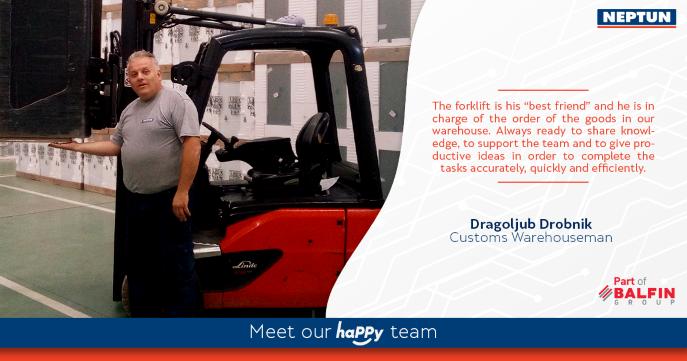 Meet our haPPy team - Dragoljub Drobnik