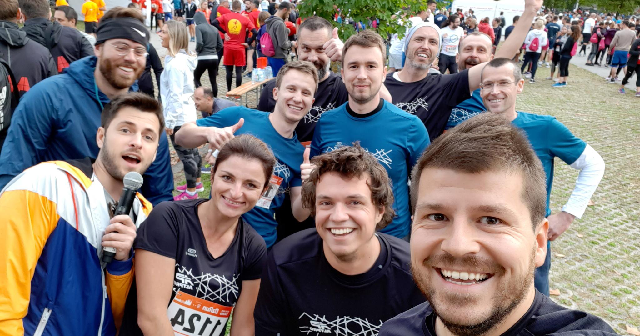 Sudjelovali smo na B2B run utrci u Zagrebu
