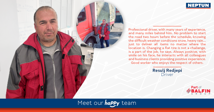 Meet our haPPy team - Resulj Redjepi