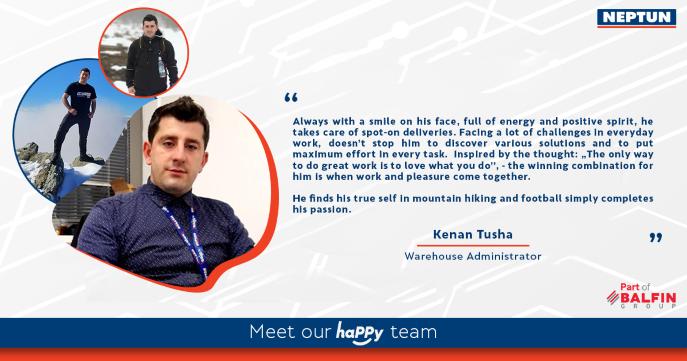 Meet our haPPy team - Kenan Tusha