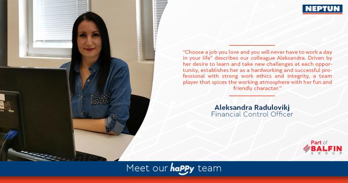 Meet our haPPy team - Aleksandra Radulovikj