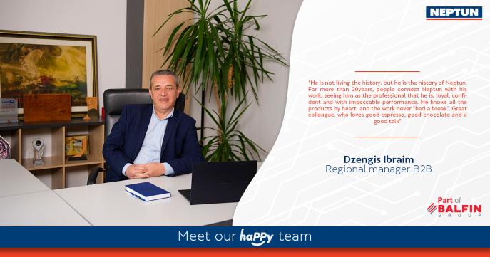Meet our haPPy team  Dzengis Ibraim