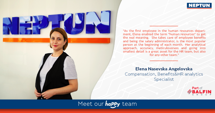 Meet our happy team - Elena Nasevska Angelovska
