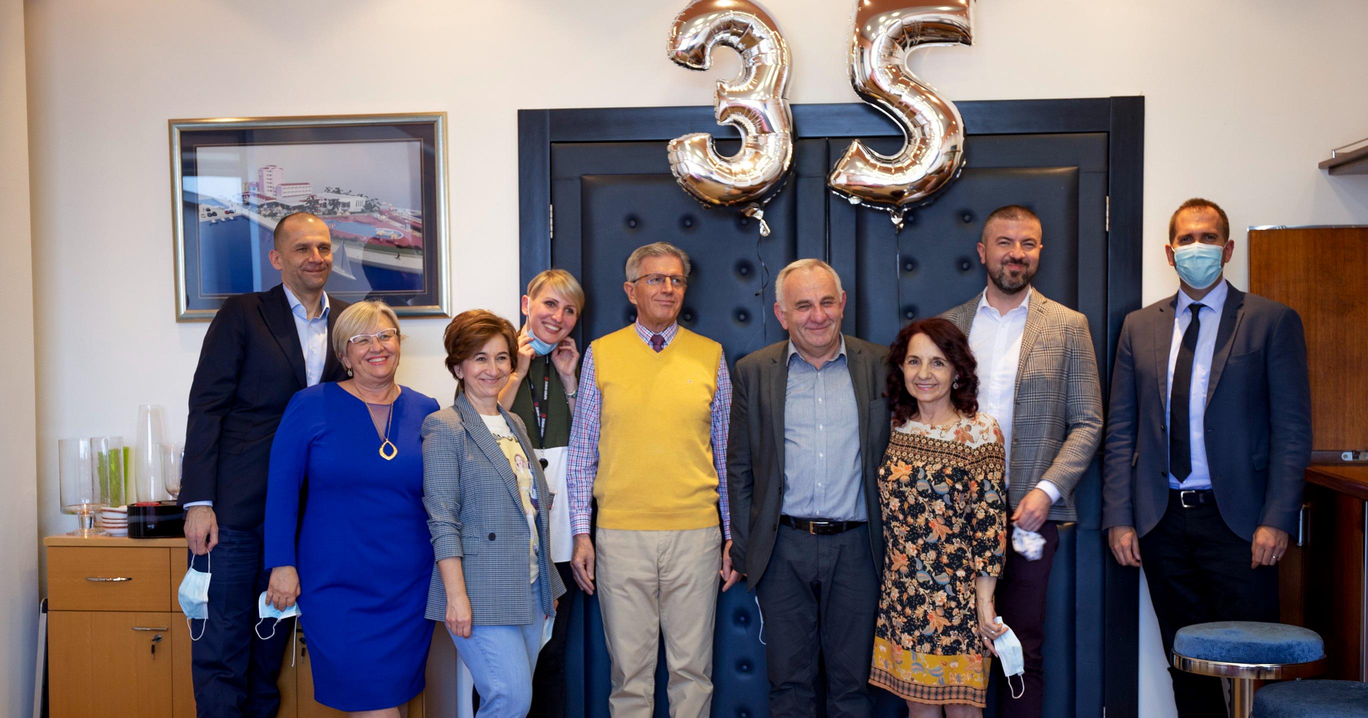 Drago Šimek - 35 godina u Zubak Grupi